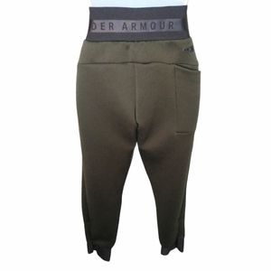 Under armor army green and black high waist pants